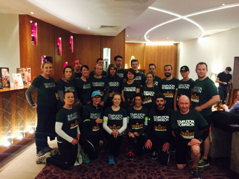 Team Templeton Robinson take to Stormont for Run in the Dark