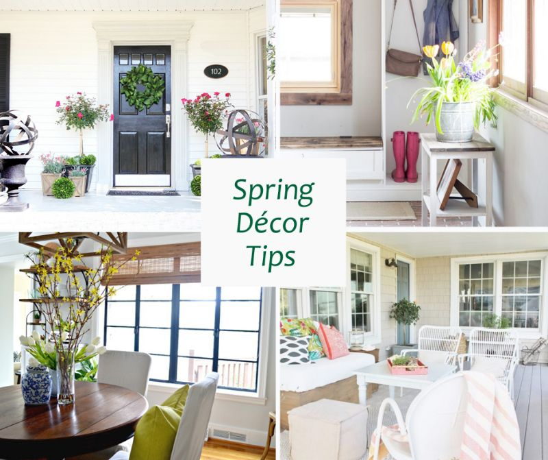 Keep Busy at Home: Spring Décor Tips to Boost Your Home's Value