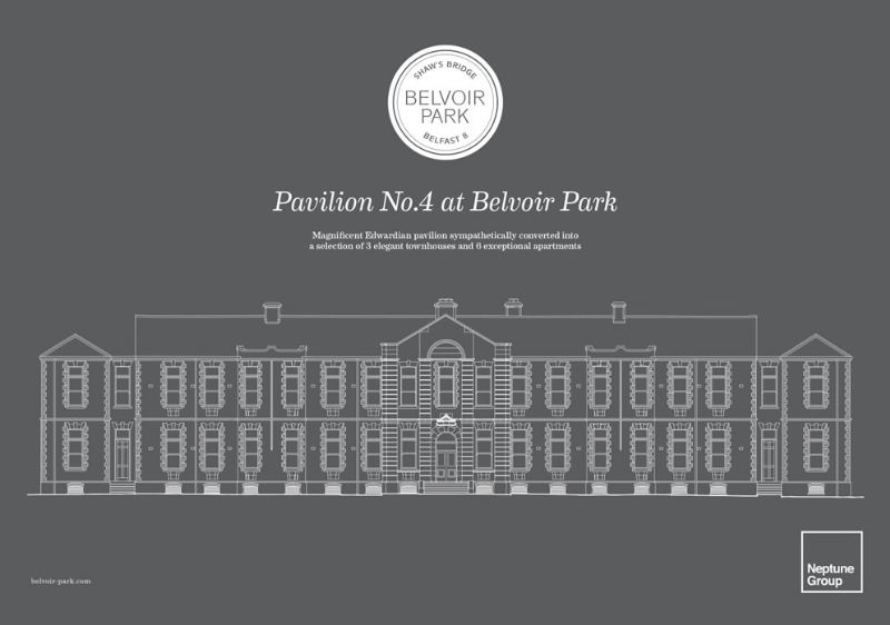 Pavilion No.4 at Belvoir Park is now on release