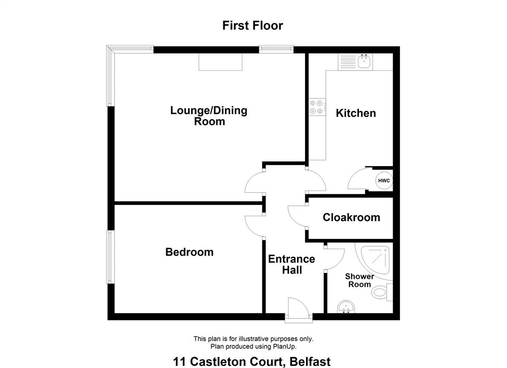 Apt 11 Castleton Court
